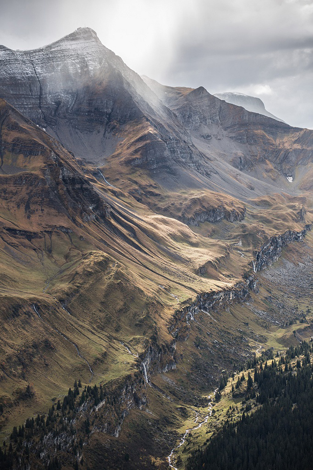 Axalp (1535 Metres), Brienz, Switzerland - Photograph by M. De Battista