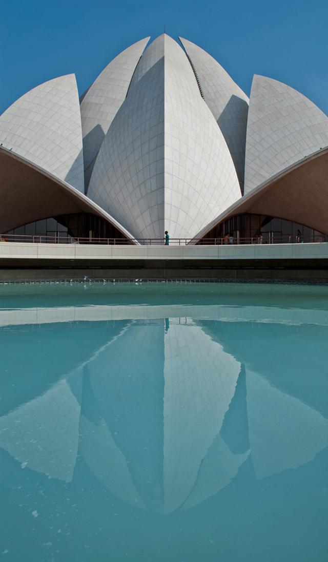 lotus temple, new delhi