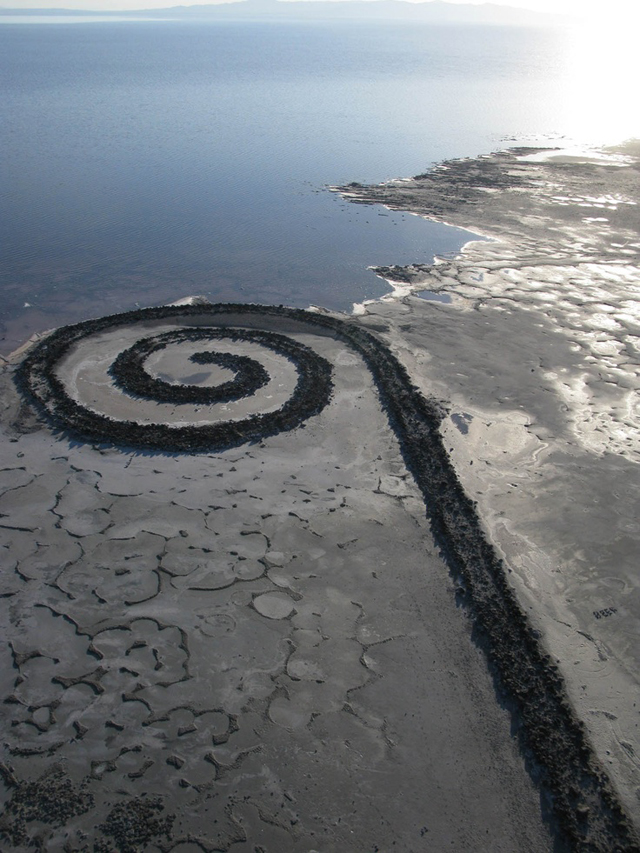 spiral jetty, utah