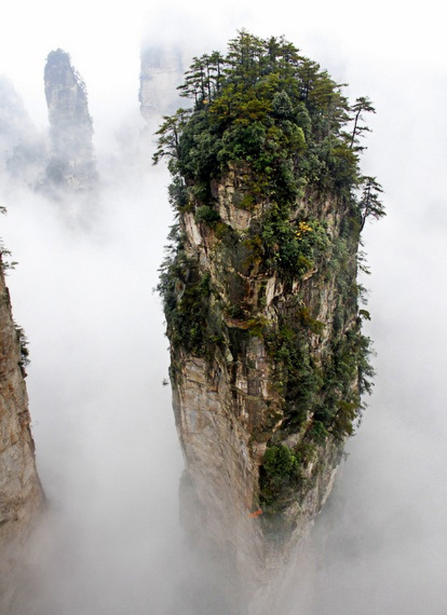 Tianzi Mountain, China