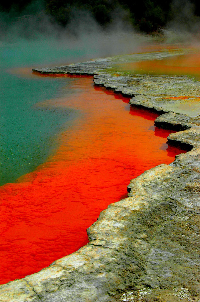 Waiotapu Thermal Reserve, New Zealand