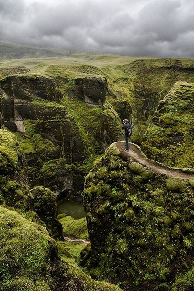 Fjaðrárgljúfur Canyon, Iceland5