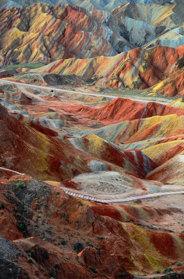 Zhangye Danxia Landform, China1