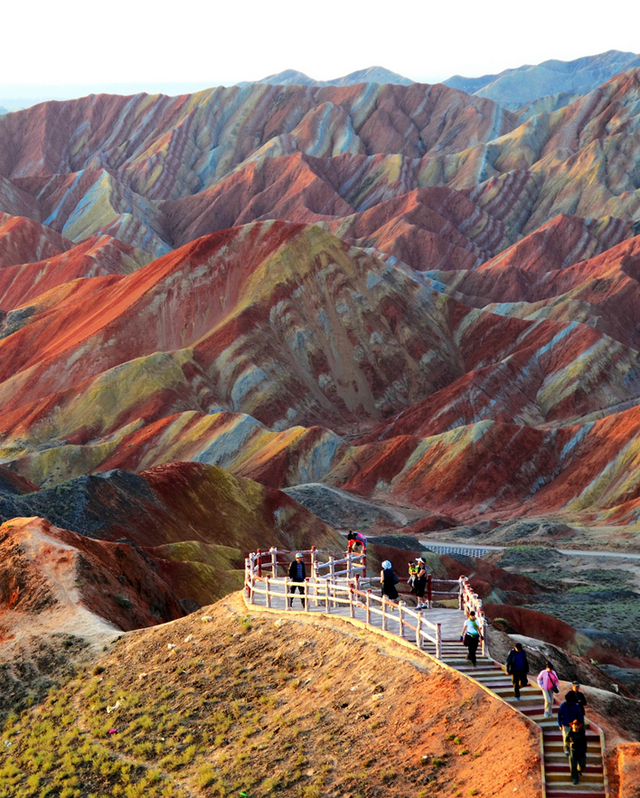 Zhangye Danxia Landform, China2