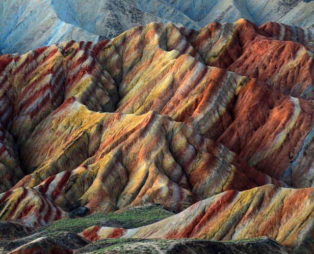 Zhangye Danxia Landform, China4