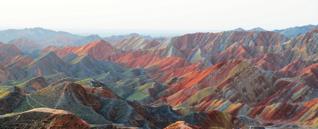 Zhangye Danxia Landform, China6