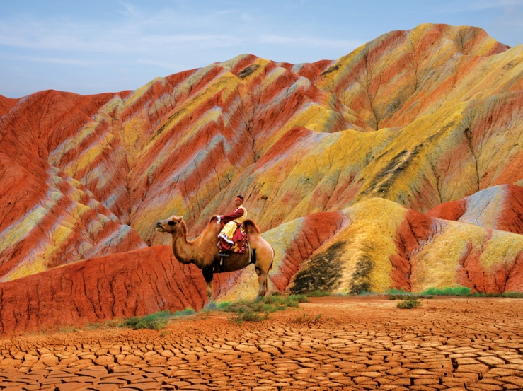 Zhangye Danxia Landform, China7