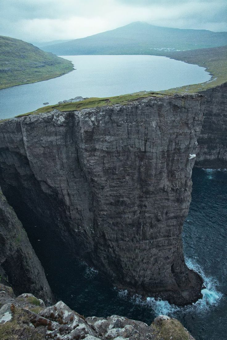 lake sorvagsvatn, faroe islands 1