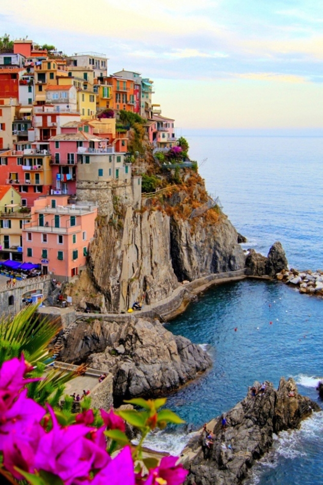 Cinque Terre Italy Collecting Wonder